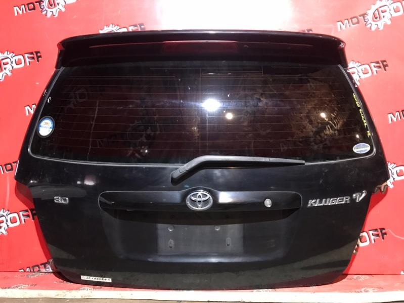Дверь задняя багажника Toyota Kluger V MCU20W 1MZ-FE 2000 задняя (б/у)