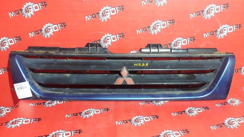 Решетка радиатора Mitsubishi Pajero Mini H58A 4A30 1998 (б/у)