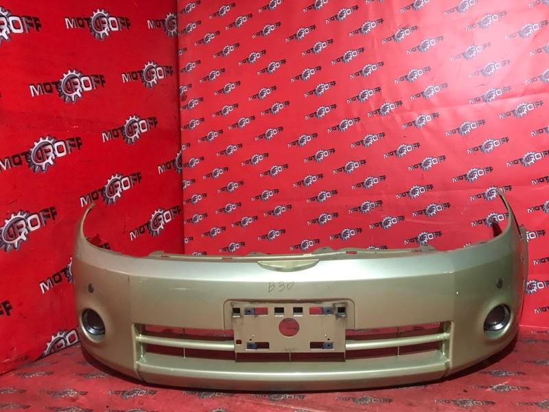 Бампер Nissan Lafesta B30 MR20DE 2004 передний (б/у)