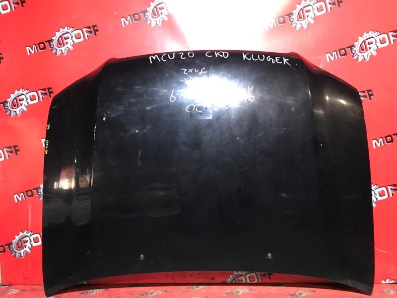 Капот Toyota Kluger V MCU20W 1MZ-FE 2000 (б/у)