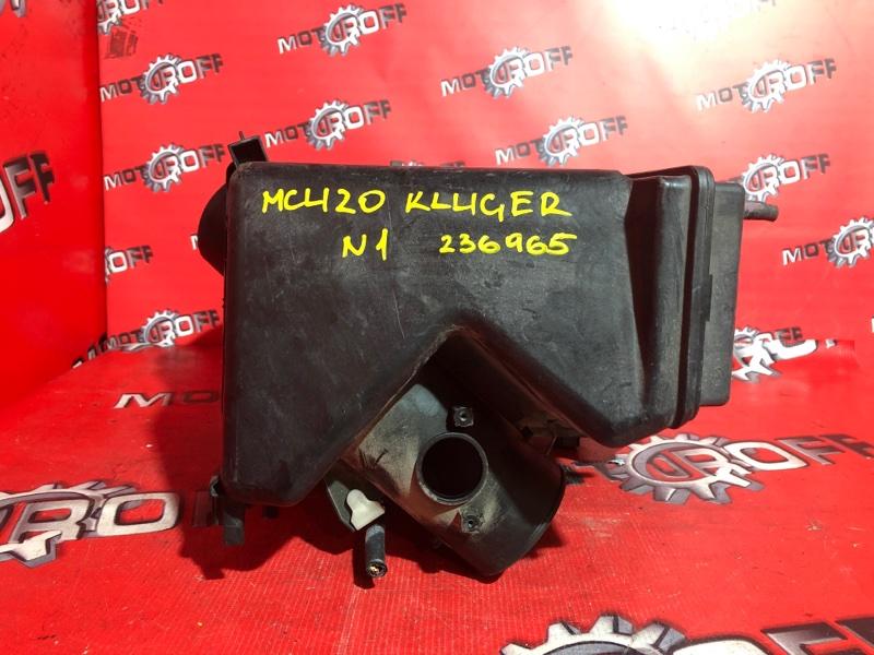 Корпус воздушного фильтра Toyota Kluger V MCU20W 1MZ-FE 2000 (б/у)