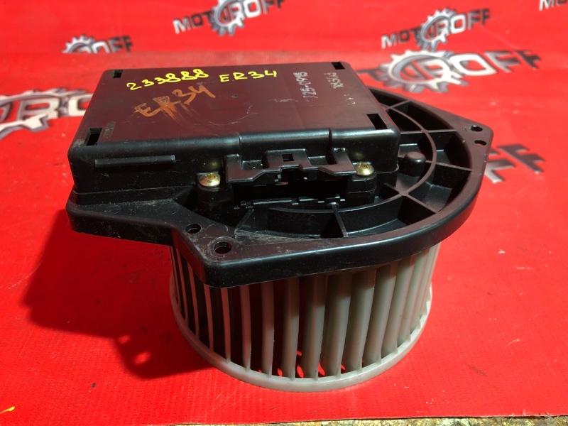 Вентилятор (мотор отопителя) Nissan Skyline ER34 RB25DE 1998 (б/у)