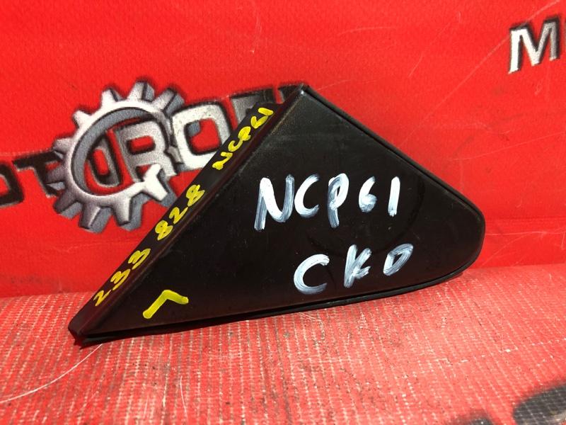 Накладка на крыло Toyota Ist NCP60 2NZ-FE 2002 левая (б/у)