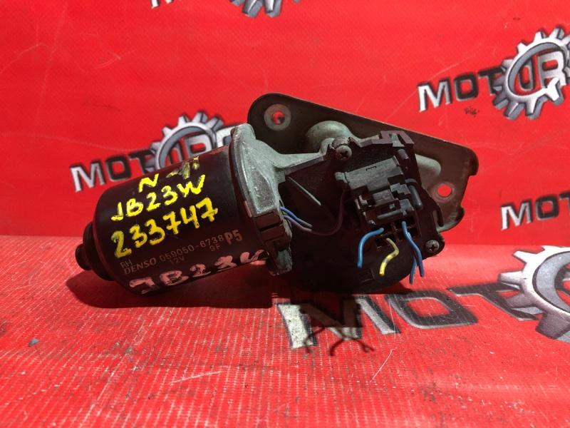 Привод (мотор) стеклоочистителей Suzuki Jimny JB23W K6A 1998 (б/у)
