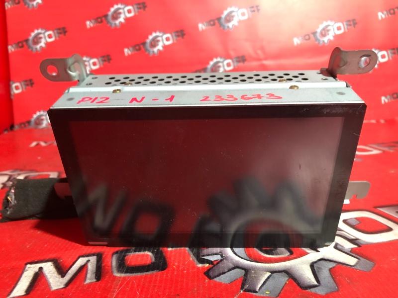 Монитор Nissan Primera TP12 QR20DE 2001 (б/у)