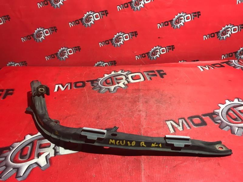 Планка под фару Toyota Kluger V MCU20W 1MZ-FE 2000 передняя правая (б/у)