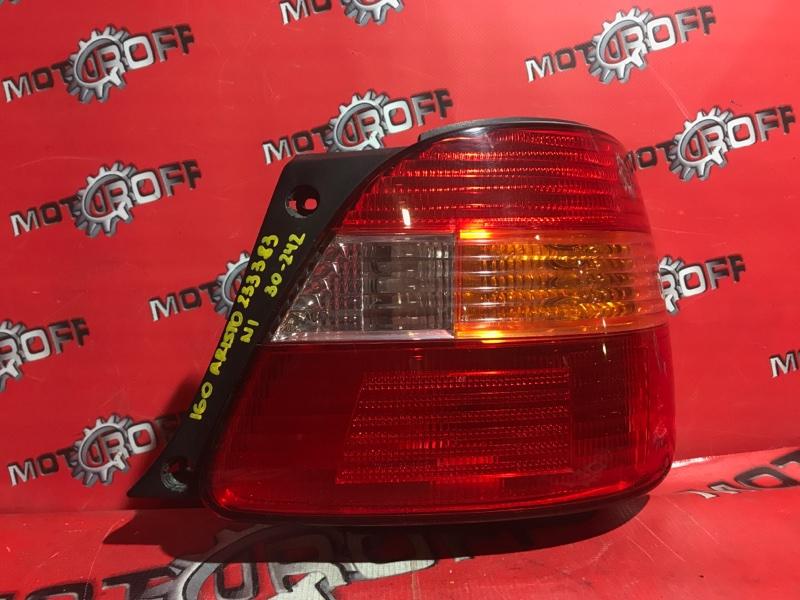 Фонарь (стоп-сигнал) Toyota Aristo JZS160 2JZ-GE 1997 задний правый (б/у)