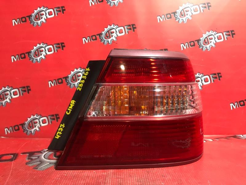 Фонарь (стоп-сигнал) Nissan Cima FHY33 VQ30DET 1996 задний правый (б/у)