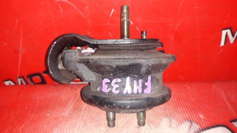 Подушка двигателя Nissan Cima FHY33 VQ30DET 1996 левая (б/у)