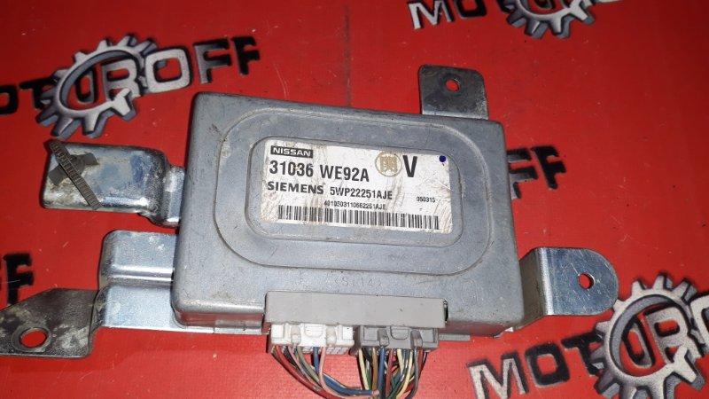 Компьютер (блок управления) Nissan Wingroad WFY11 QG15DE 1999 (б/у)