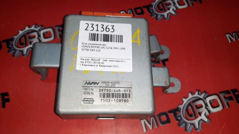 Блок управления abs Honda Inspire UA2 G25A 1995 (б/у)