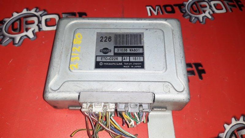 Компьютер (блок управления) Nissan Avenir PW11 SR20DE 1998 (б/у)