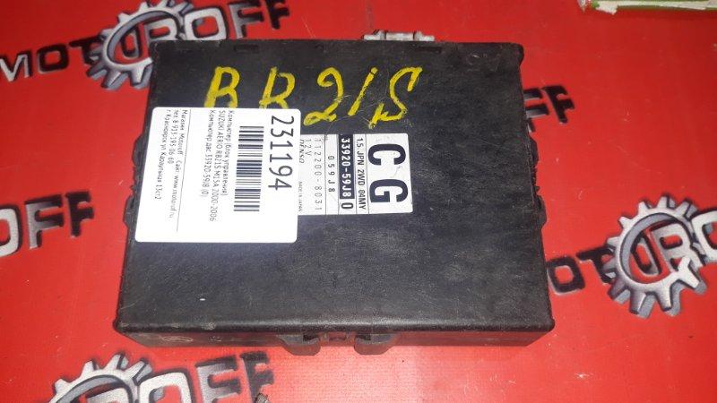 Компьютер (блок управления) Suzuki Aerio RB21S M15A 2000 (б/у)