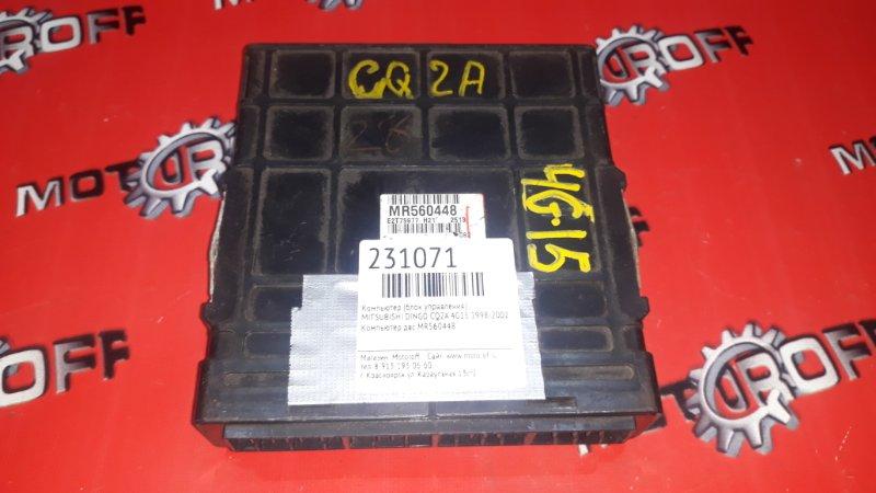 Компьютер (блок управления) Mitsubishi Dingo CQ2A 4G15 1998 (б/у)
