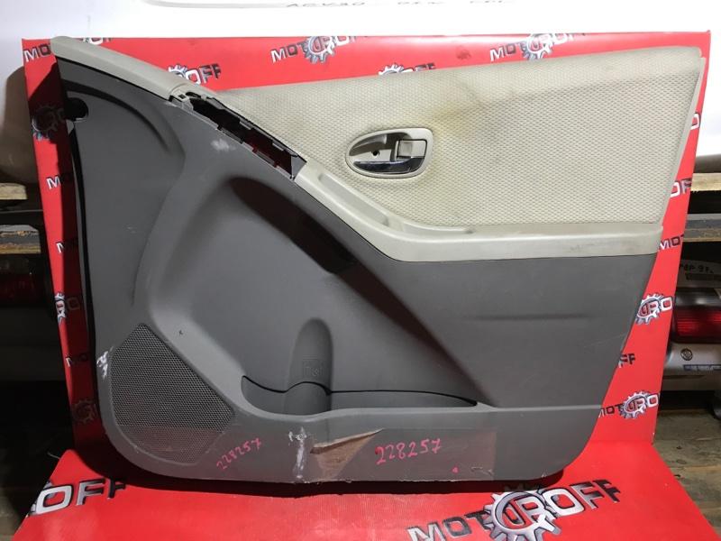 Обшивка двери Toyota Vitz KSP90 1KR-FE 2005 передняя правая (б/у)