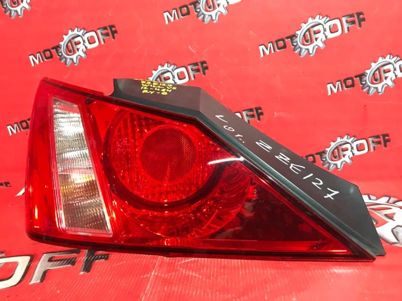 Фонарь (стоп-сигнал) Toyota Will Vs ZZE127 1ZZ-FE 2001 задний левый (б/у)