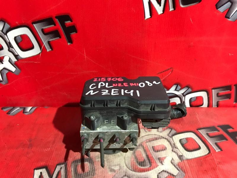 Блок abs (модулятор abs) Toyota Corolla Fielder NZE141G 1NZ-FE 2006 (б/у)