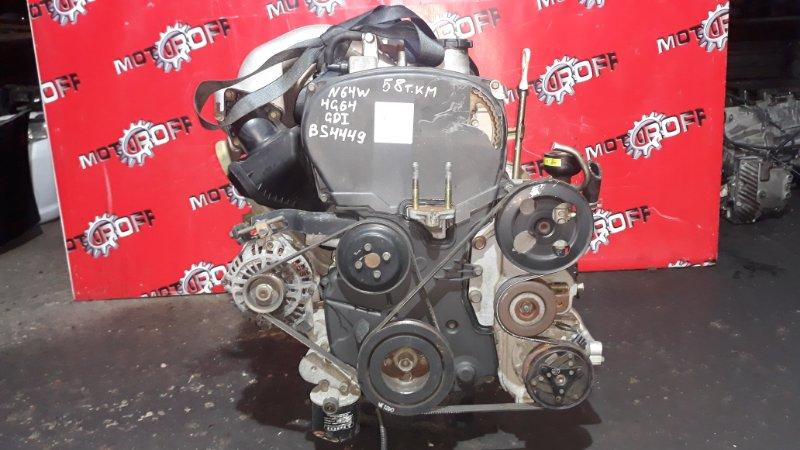 Двигатель Mitsubishi Rvr N64WG 4G64 1997 (б/у)