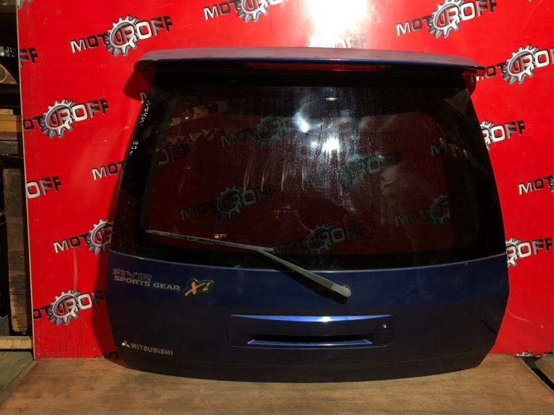 Дверь задняя багажника Mitsubishi Rvr N74WG 4G64 1997 задняя (б/у)
