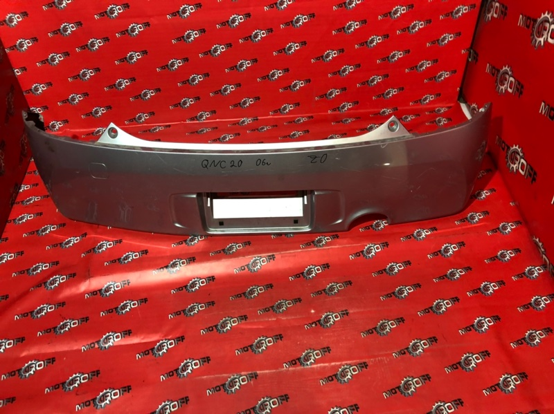 Бампер Toyota Bb QNC20 K3-VE 2005 задний (б/у)