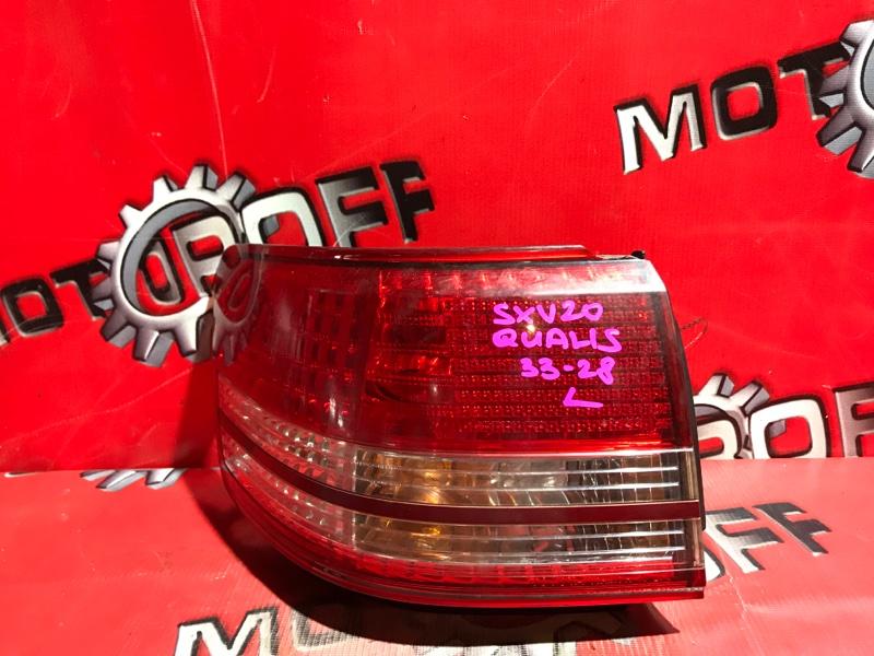 Фонарь (стоп-сигнал) Toyota Mark Ii Qualis SXV20 5S-FE 1997 задний левый (б/у)