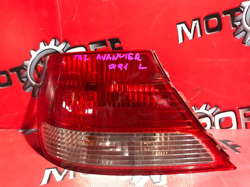 Фонарь (стоп-сигнал) Honda Avancier TA1 F23A 1999 задний левый (б/у)