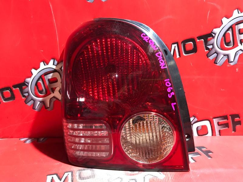 Фонарь (стоп-сигнал) Mitsubishi Dion CR9W 4G63 2000 задний левый (б/у)