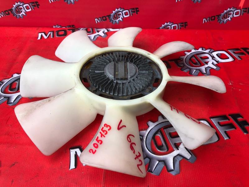 Вискомуфта вентилятора радиатора Mitsubishi Delica PD6W 6G72 1997 (б/у)