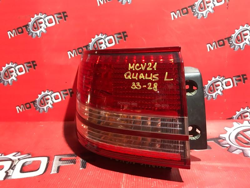 Фонарь (стоп-сигнал) Toyota Mark Ii Qualis MCV21 2MZ-FE 1997 задний левый (б/у)