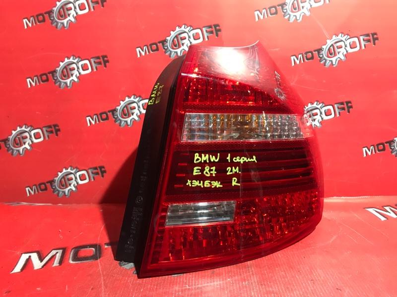 Фонарь (стоп-сигнал) Bmw 116I E87 N45 2007 задний правый (б/у)
