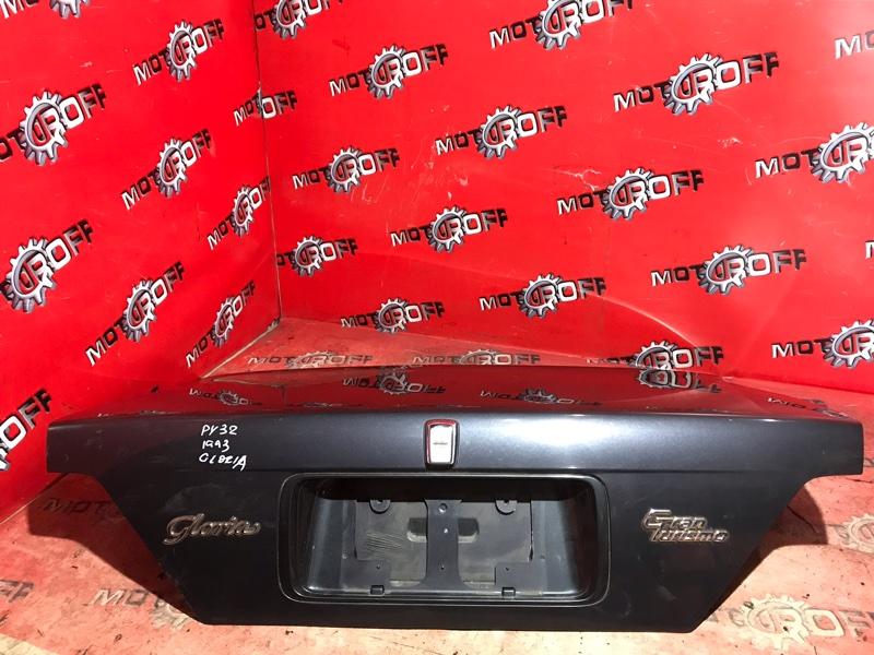 Крышка багажника Nissan Gloria PY32 VG30DE 1991 задняя (б/у)