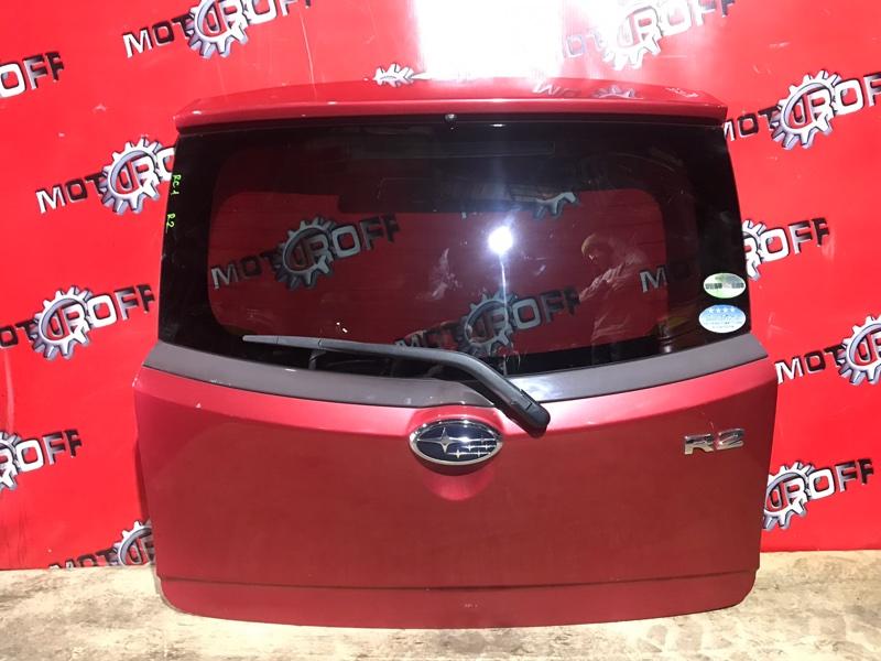 Дверь задняя багажника Subaru R2 RC1 EN07 2003 задняя (б/у)