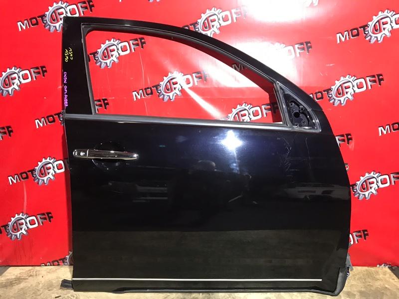 Дверь боковая Mitsubishi Outlander CW5W 4B12 2005 передняя правая (б/у)