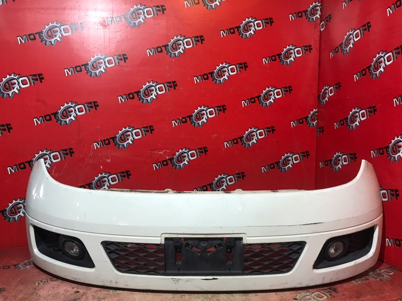 Бампер Nissan Elgrand E51 VQ35DE 2002 передний (б/у)