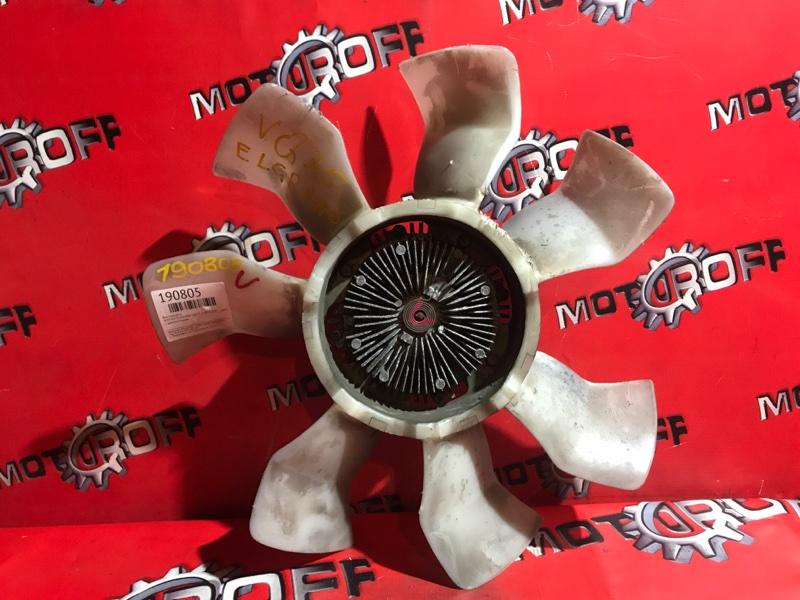 Вискомуфта вентилятора радиатора Nissan Elgrand E51 VQ35DE 2002 (б/у)