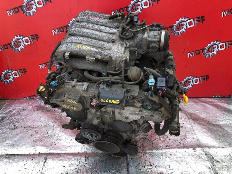 Двигатель Nissan Elgrand E51 VQ35DE 2002 (б/у)