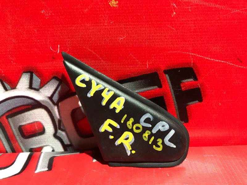Накладка на крыло Mitsubishi Lancer X CY4A 4B11 2006 правая (б/у)