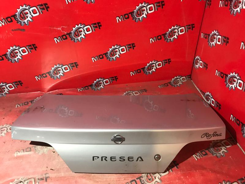 Крышка багажника Nissan Presea R11 GA15DE 1995 (б/у)