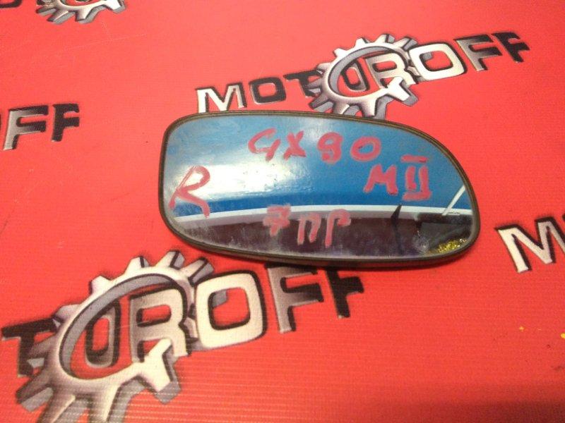 Стекло зеркала Toyota Mark Ii GX90 1JZ-GE 1992 правое (б/у)