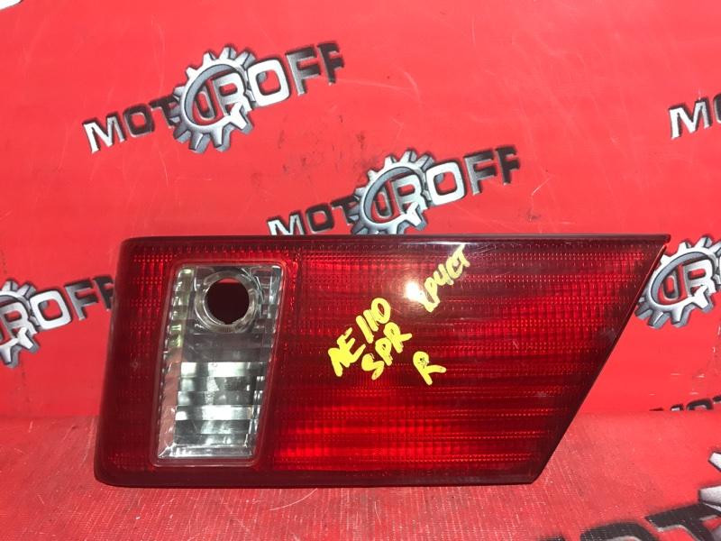 Фонарь (вставка багажника) Toyota Sprinter AE110 5A-FE 1998 задний правый (б/у)