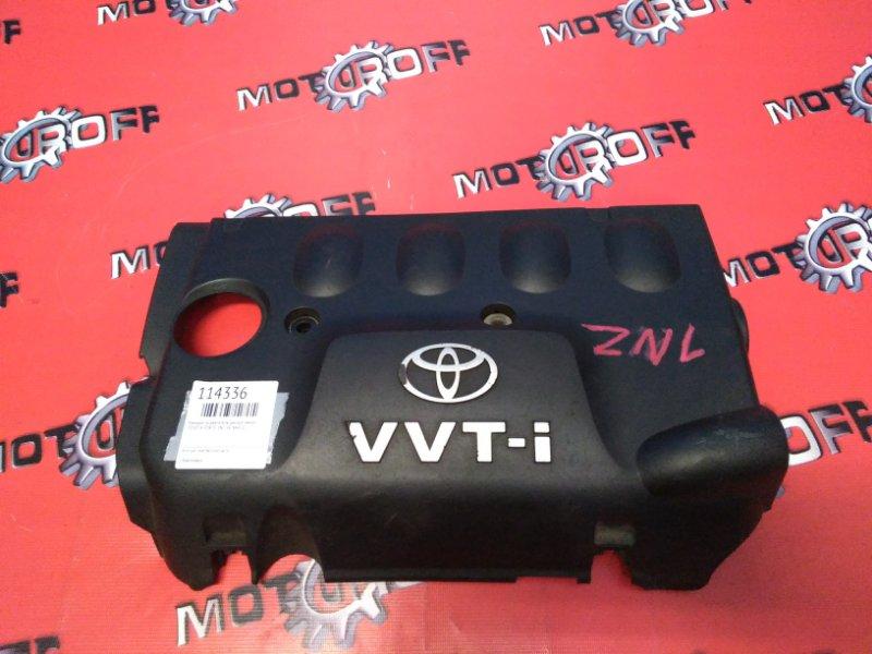 Крышка на двигатель декоративная Toyota Porte NNP10 1NZ-FE 2000 (б/у)