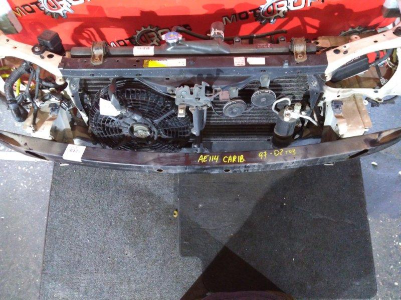 Усилитель бампера Toyota Sprinter Carib AE114 4A-FE 1997 (б/у)