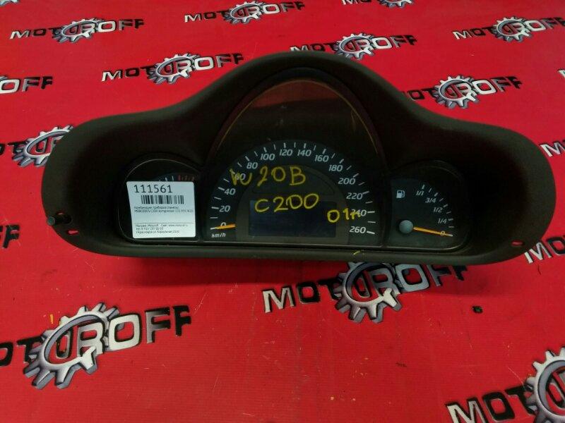 Комбинация приборов (спидометр) Mercedes C200 Kompressor W203 111.955 2000 (б/у)