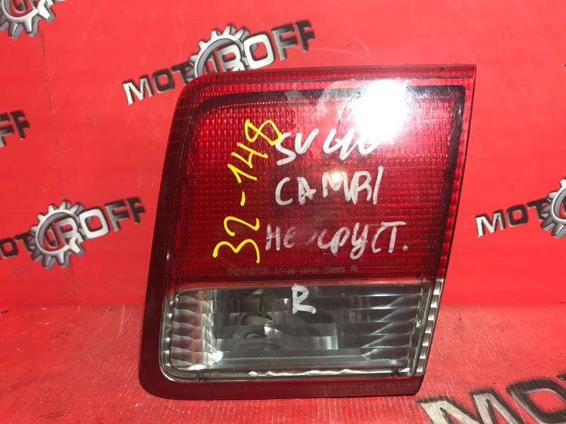 Фонарь (вставка багажника) Toyota Camry SV40 3S-FE 1994 задний правый (б/у)