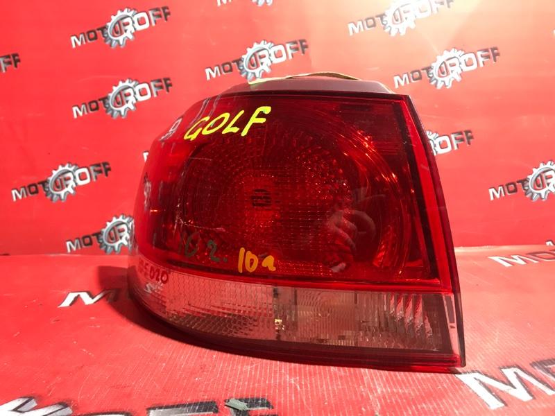 Фонарь (стоп-сигнал) Volkswagen Golf 6 2008 задний левый (б/у)