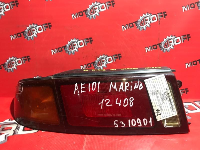 Фонарь (стоп-сигнал) Toyota Sprinter Marino AE100 4A-FE 1992 задний левый (б/у)