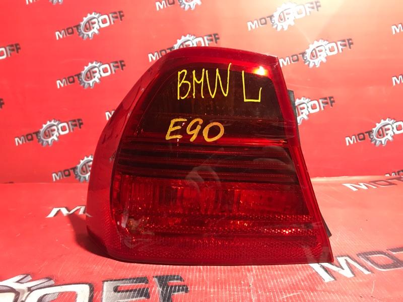Фонарь (стоп-сигнал) Bmw 318 E90 N46 B20 2005 задний левый (б/у)