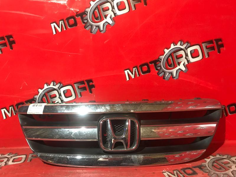 Решетка радиатора Honda Edix BE1 D17A 2004 передняя (б/у)