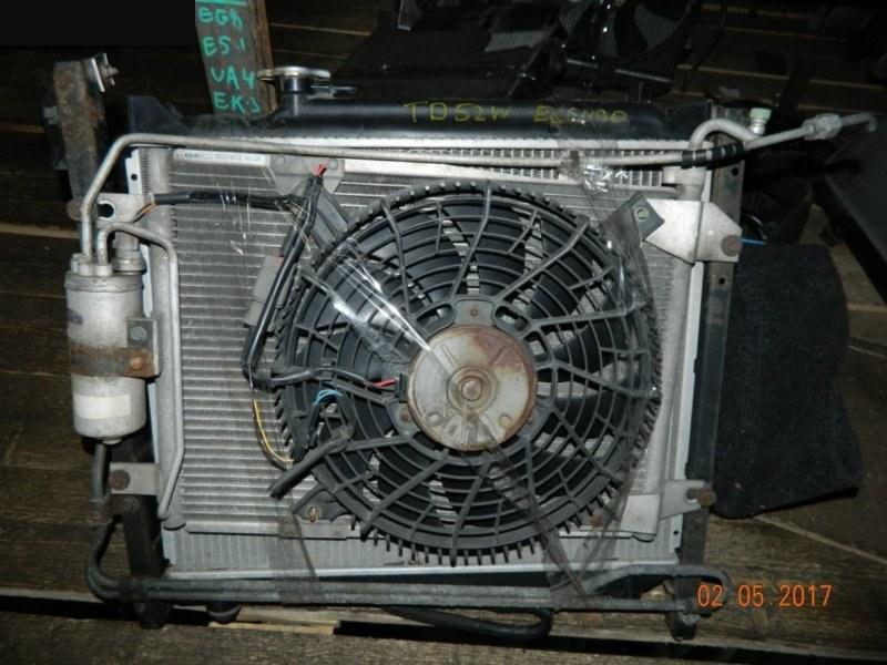 Радиатор кондиционера Suzuki Escudo TA02W J20A 1997 передний (б/у)