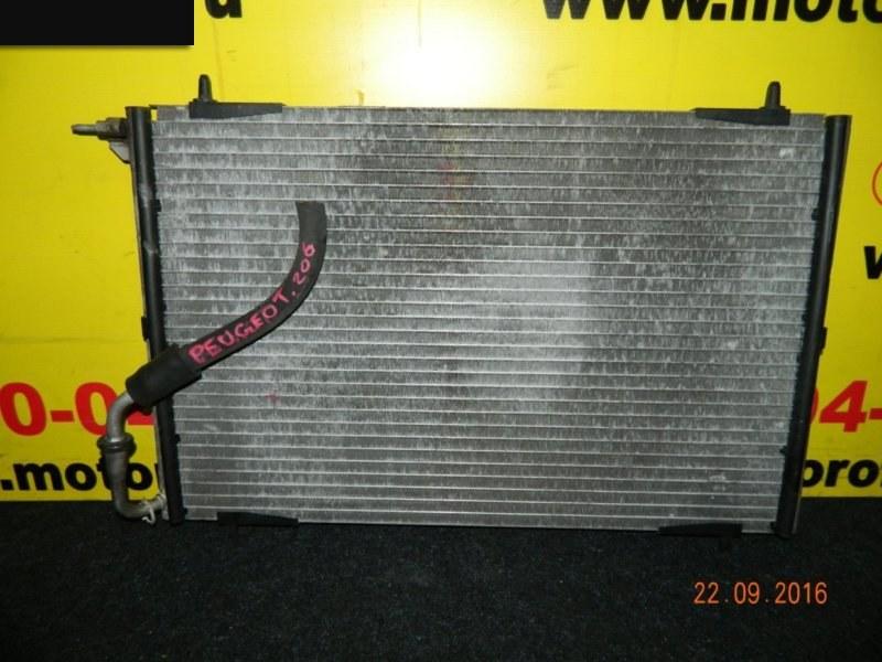 Радиатор кондиционера Peugeot 206 NFU (TU5JP4) 1998 (б/у)